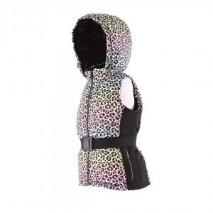 Dievčenská vesta multicolor LEO/pilguni
