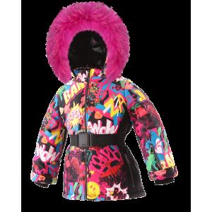 SKI zimná bunda s prírodnou kožušinou NEW BOOM/pilguni